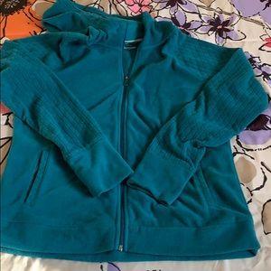 Super Soft Teal Hooded Sweatshirt